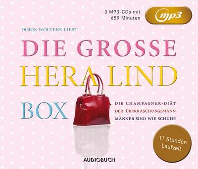 Die große Hera Lind Box (Die Champagner-Diät, Der Überraschungsmann, Männer sind wie Schuhe)